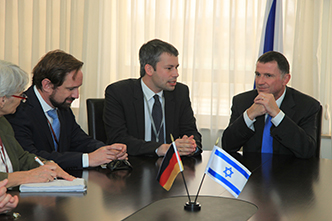 Speaker Edelstein to Bundestag members: �We do not forget history, but the change is real�