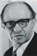 Portrait of Menachem Begin