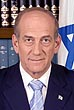 Portrait of Ehud Olmert