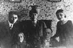 Menachem Begin's family portrait